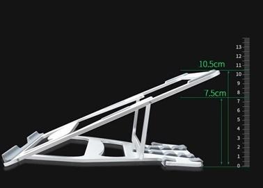 Wiwu S100 Macbook Laptop Standı Yükseltici Aparat Metal Tasarım Gümüş